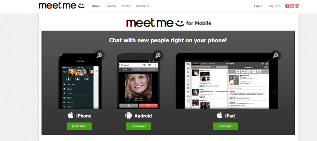Business Networking Apps - Meet me