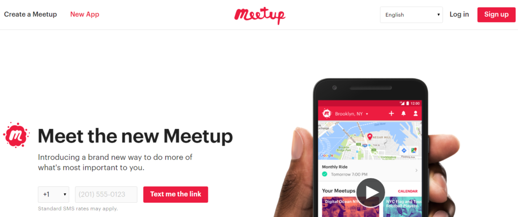 Business Networking Apps - Meetup