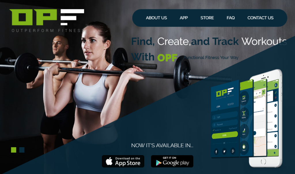 Mobile Apps for Fitness - Outperform Fitness