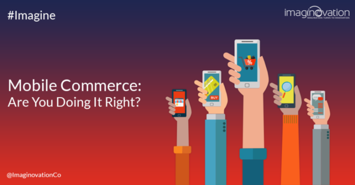 Mobile Commerce trends and examples - Are you doing it right