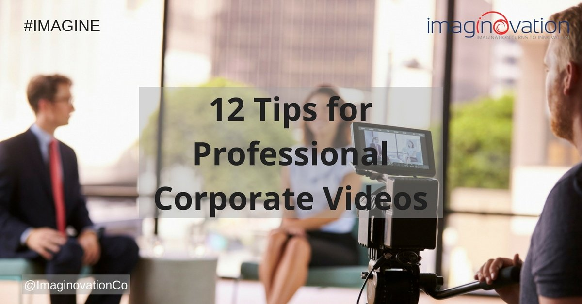 tips for company profile video making