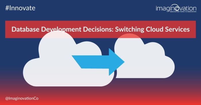 Database Development Decision - Cloud Database Services