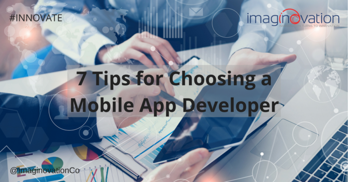 Tips to finding and hiring a mobile app developer