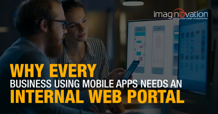 Internal web portal development examples