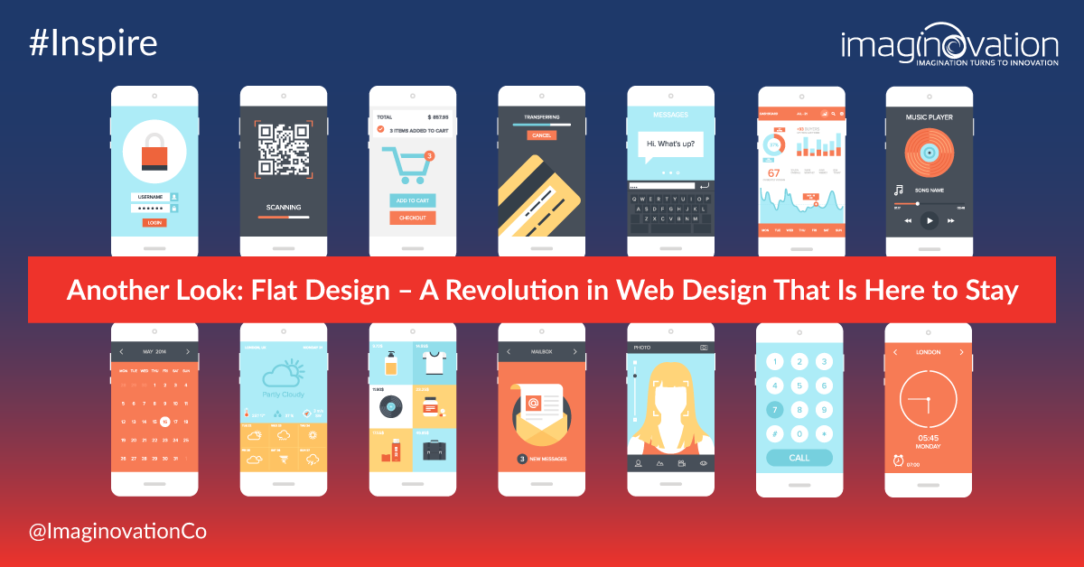 Flat Design Trend - how to make flat web design