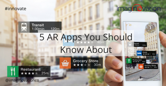 5 Top AR Apps from Gaming to Real Estate