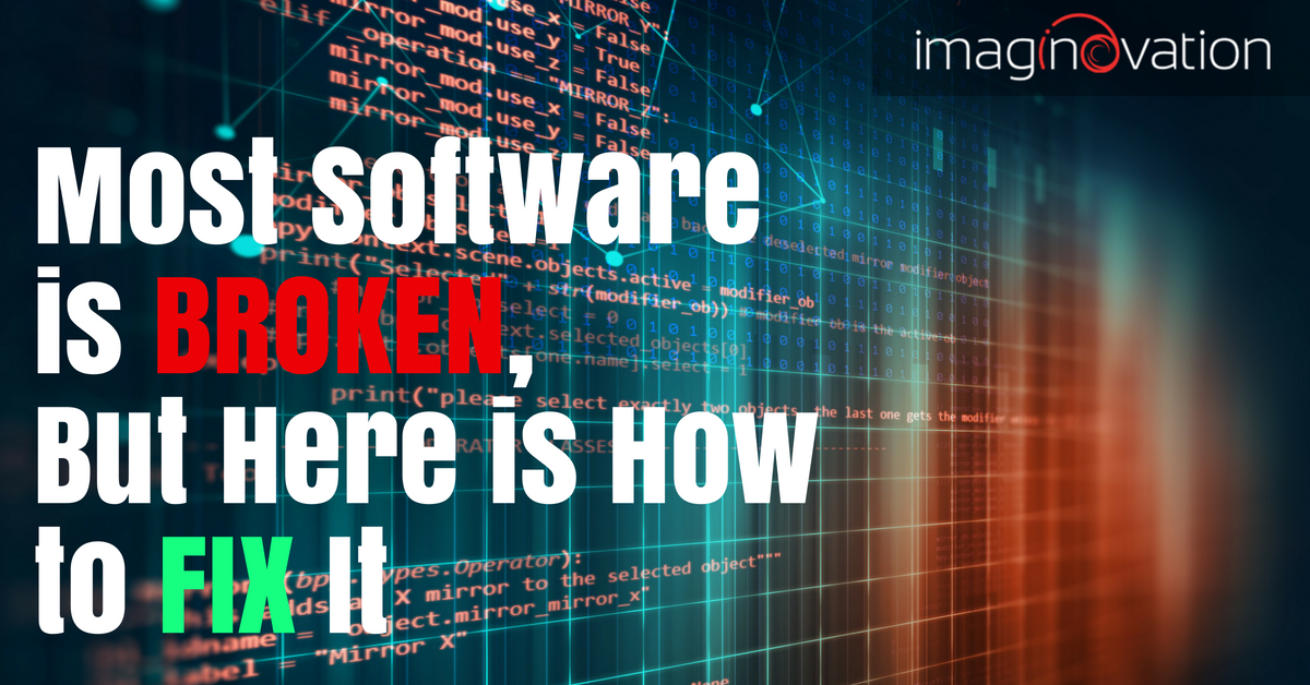 how to fix software - causes of failure and troubleshooting steps