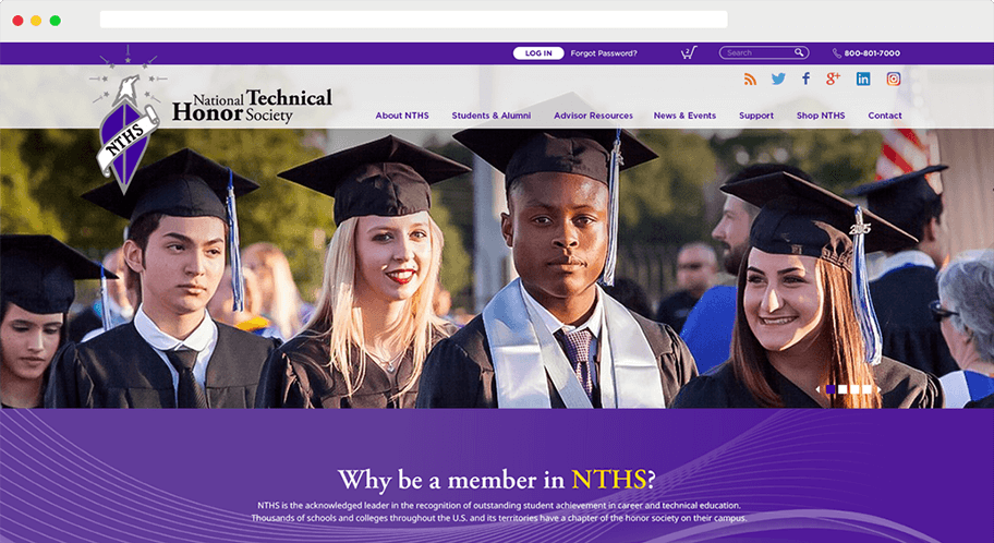 NTHS Browser Window