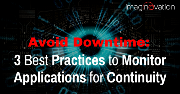 avoid unplanned downtime - application performance monitoring tools