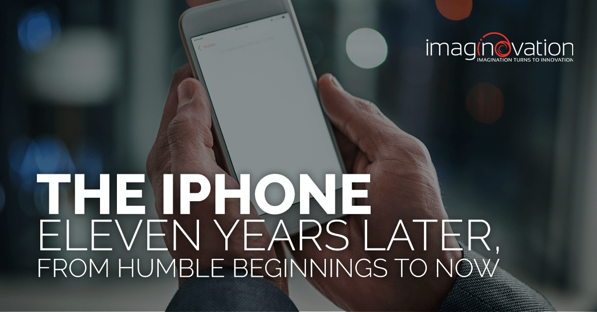 iphone history timeline - why was iphone invented